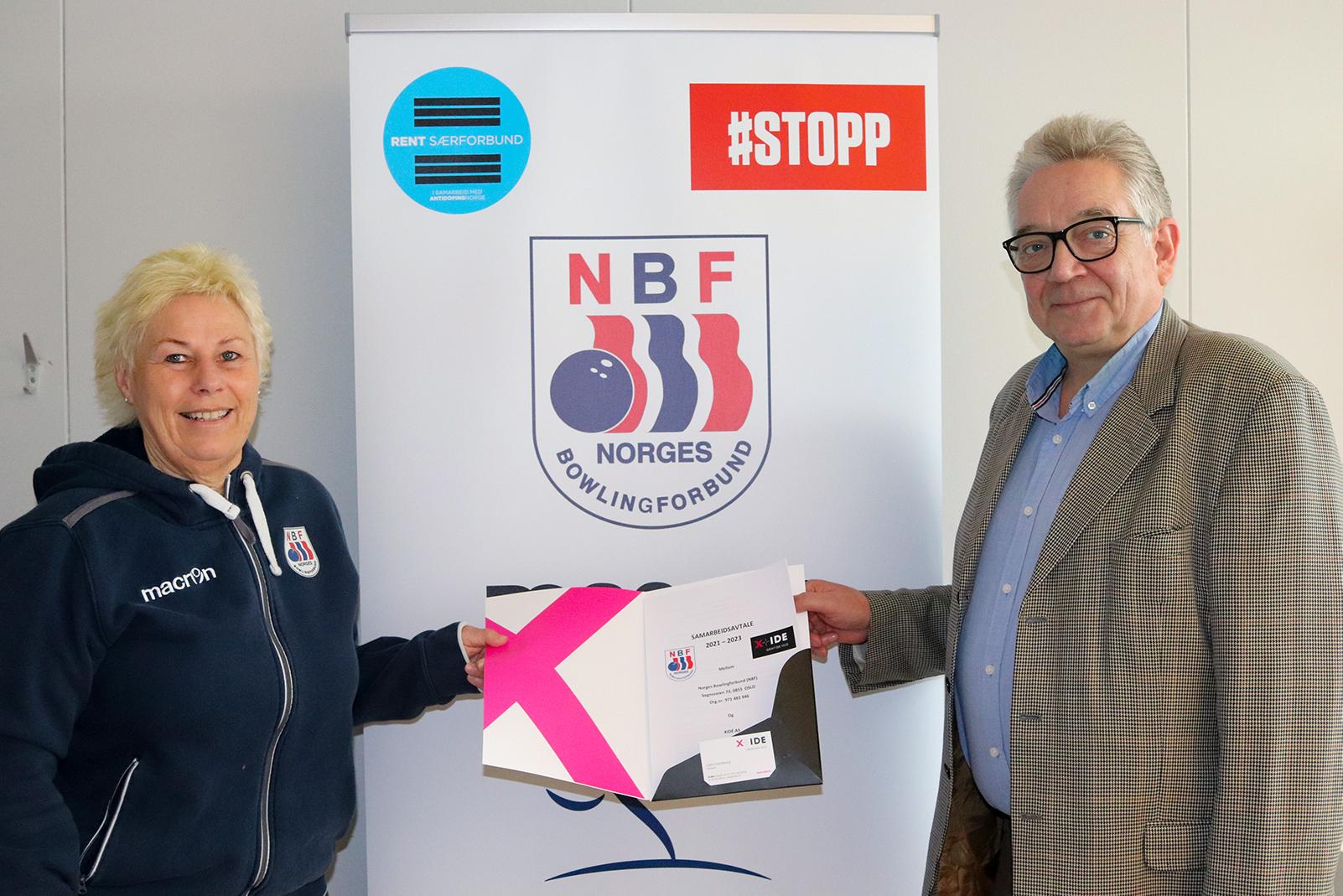 X IDE blir ny hovedsponsor i Norges Bowlingforbund